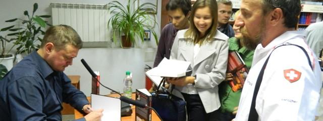 Андрій Кокотюха презентував «Повний місяць»