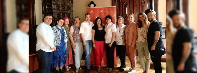 Сьогодні відбулось динамічне фахове засідання членів журі номінації «Драматургія» Міжнародного літературного конкурсу «Коронація слова»